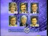 San Francisco Bay Area Local TV News Opens (1989) - KGO, KRON, KPIX, KTVU, KNTV