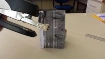 Hilarious alien parody with stapler
