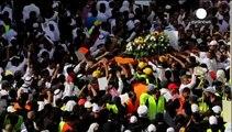 عربستان سعودی؛ مراسم تدفین آخرین قربانی حمله به مسجد شیعیان
