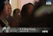 Addio B.B. King, funerale gospel per il re del blues