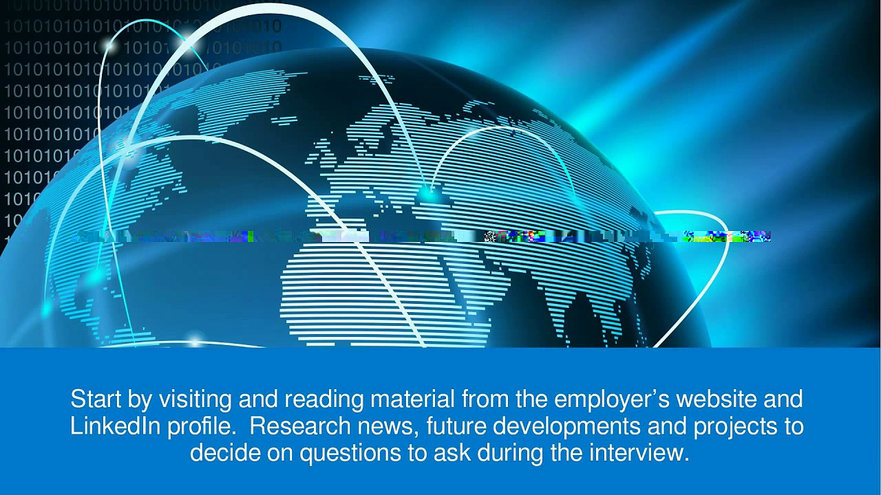 Research The Employer Before A Job Interview