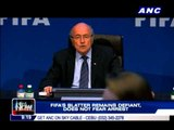 FIFA's Blatter remains defiant, does not fear arrest