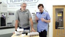 SuperSoft Jaws Demonstration (Machining Eggs) - Tormach CNC
