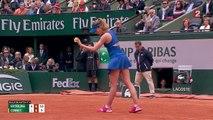 Roland-Garros : Alizé Cornet s'incline malgré sa combativité