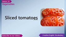 Learn English - English Vocabulary Lesson 14 - Vegetables | Free English Lessons, ESL Lessons