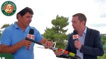 La Babolat connect vue par Toni Nadal - Roland-Garros 2015