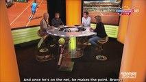 30/05/15 : Rafael Nadal vs Andrey Kuznetsov (Roland Garros) analysed by Avantage Leconte [HD]