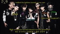 BTS (Bangtan Boys) - Path/Road (길) Color Coded Lyrics [HAN/ROM/ENG]