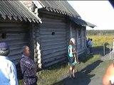 Russie ile de Kiji sur le lac Onega ( Russia island of Kizhi on lake Onega )