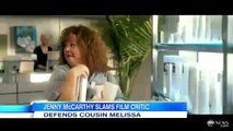 Jenny McCarthy Defends Cousin Melissa McCarthy