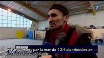 Invasion d'immigrés clandestins en Corse. Le clandestin VEUT...