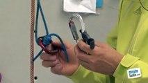 Escalade : Remonter sur une corde fixe avec des cordelettes