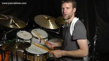 Drum Lesson : Cool triplet fill