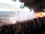 Panathinaikos vs Iraklis - After first Panathinaikos goal by Djibril Cisse