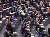 Neuer Bundestag zu seiner ersten Sitzung zusammengekommen