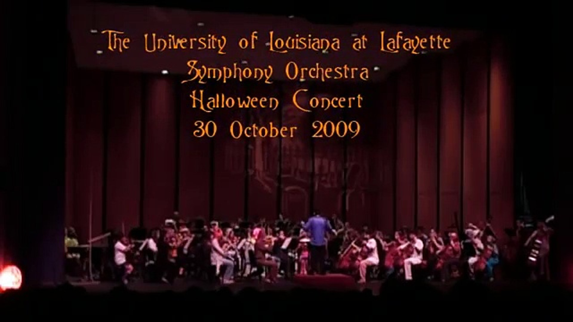 Rosin Eating Zombies from Outer Space, Richard Meyer~UL Symphony Orchestra~Halloween Concert