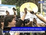 Kabataan party-list pushes for Internet Freedom Bill
