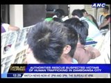 40 human trafficking victims rescued in Zamboanga