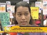 OFWs protest slow repatriation