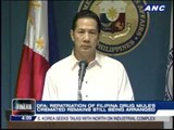 DFA denies ashes of Pinay drug mule repatriated