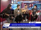 Spongecola performs 'Jeepney', Backstreet Boys song