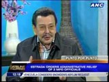 Erap gives Manila police 100 days to rid city of crime