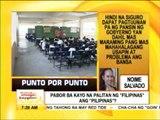 Punto por Punto: Pilipinas o Filipinas?