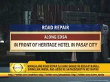 Heavy traffic expected due to road reblocking