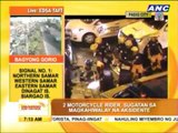 2 injured in Pasig motorcycle accidents
