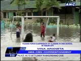 Heavy rains trigger floods in Tagum City