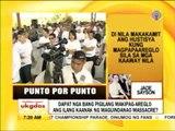 Punto por Punto: Relatives of the victims of  Maguindanao massacre, hihingi na ng tulong sa UN