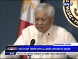DFA probe confirms Middle East sex abuse allegations
