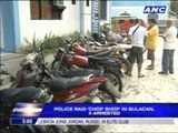 4 arrested in motorcycle 'chop shop'