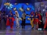 'Showtime' hosts don superhero costumes