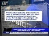 US Navy  USS Guardian crew ignored alarms
