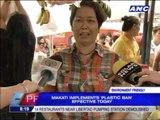 Makati is 9th city in Metro Manila with plastic ban