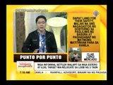 Punto por Punto: Relocation ng mga naninirahan sa mga daluyan ng tubig, tinututulan