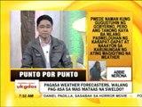 Punto por Punto: PAGASA weather forecasters, walang pag-asa sa mas mataas na sweldo?