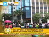 Bomb scare prompts evacuation at Bonifacio Global City