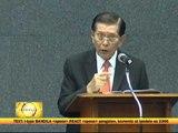 Enrile hits critics in resignation speech
