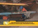 Busted water pipe causes Manila flood