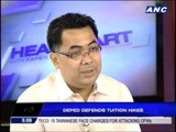 DepEd defends tuition hikes