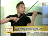 Traveling musician Bryson Andres performs on 'UKG'