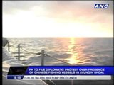 Philippines protests Chinese ships in Ayungin Shoal