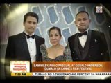 ABS-CBN actors attend Cannes Film Festival