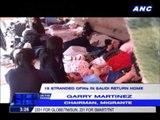 15 stranded OFWs in Saudi return home