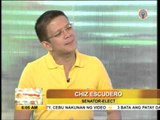 Chiz: Time will heal rift with Heart's parents