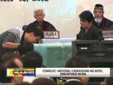Comelec suspends national canvassing