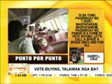 Punto por Punto: Vote-buying, talamak nga ba?