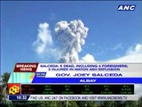4 foreigners, 1 tour guide killed in Mayon volcano